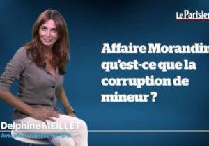 Le Parisien. L'affaire Morandini ou la résurrection du délit d'incitation au vice.
