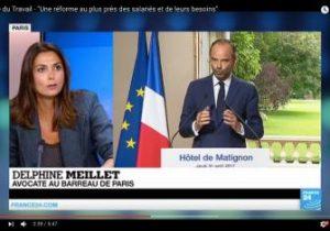 """Intervention de Delphine Meillet au sujet de """"Code du Travail - 'Une réforme au plus près des salariés et de leurs besoins'"""""""