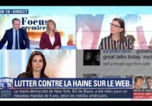 """Intervention de Delphine Meillet au sujet de """"Peut-on sanctionner ceux qui véhiculent la haine sur le web?"""""""