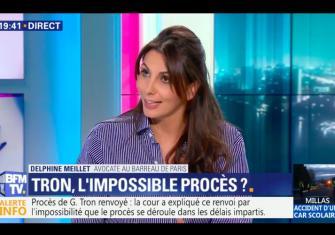 Intervention de Delphine Meillet au sujet de l'affaire Georges TRON