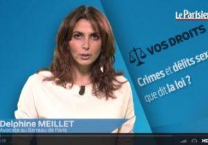 Le Parisien. Crimes et délits sexuels : que dit la loi?