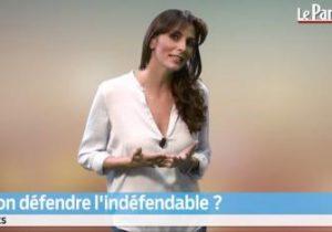 Le Parisien. Peut-on défendre l'indéfendable?