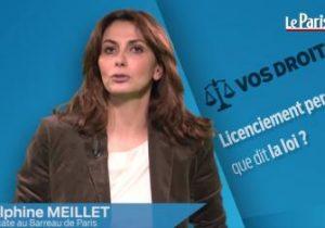 Le Parisien. Licenciement personnel : que dit la loi?