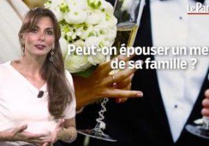 Le Parisien. Peut-on épouser un membre de sa famille?