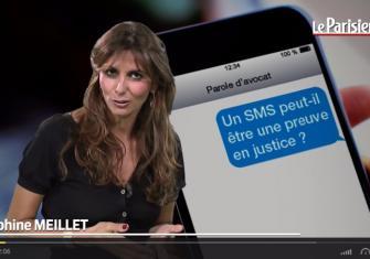 Le Parisien. Menaces de mort par SMS : est-ce un délit?