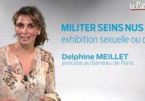 Le Parisien. Peut-on militer seins nus?