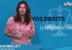 Le Parisien. La religion au travail.