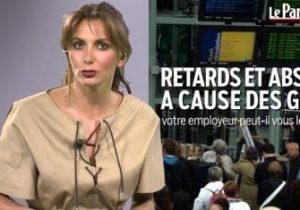 Le Parisien. En retard à cause des grèves, que peut vous reprocher votre patron?