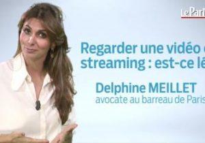 Le Parisien. Regarder une vidéo en streaming : est-ce légal?
