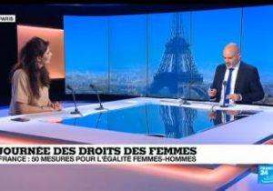 """France 24. Journée des droits des femmes : """"Il faut se mobiliser constamment"""""""