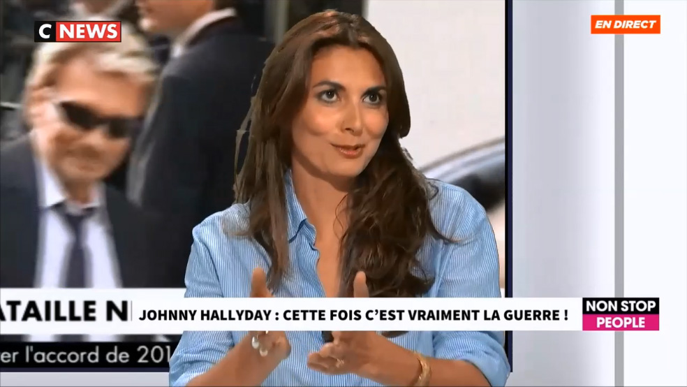 Succession Johnny Hallyday
