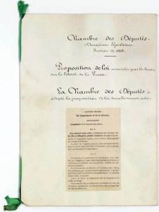 Loi sur la liberté de la presse 29 juillet 1881