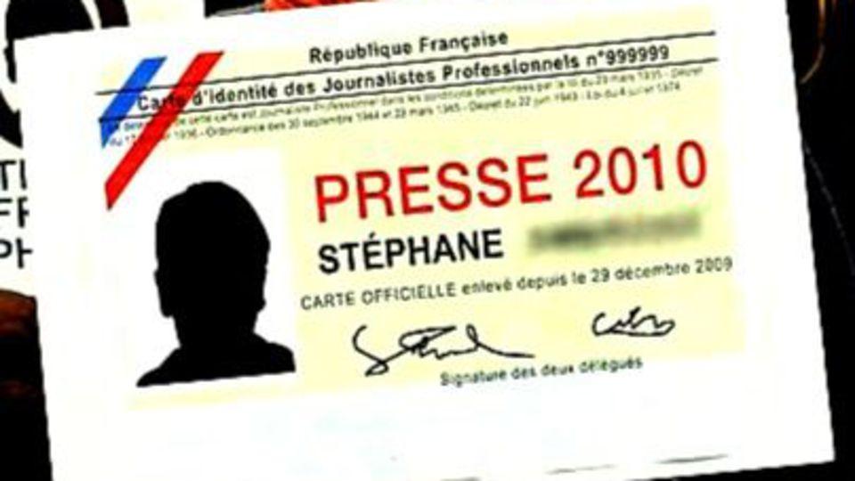 Le journaliste et le mythe de la carte de presse – L'Express