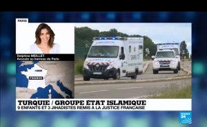 La France rapatrie neufs enfants de jihadistes.