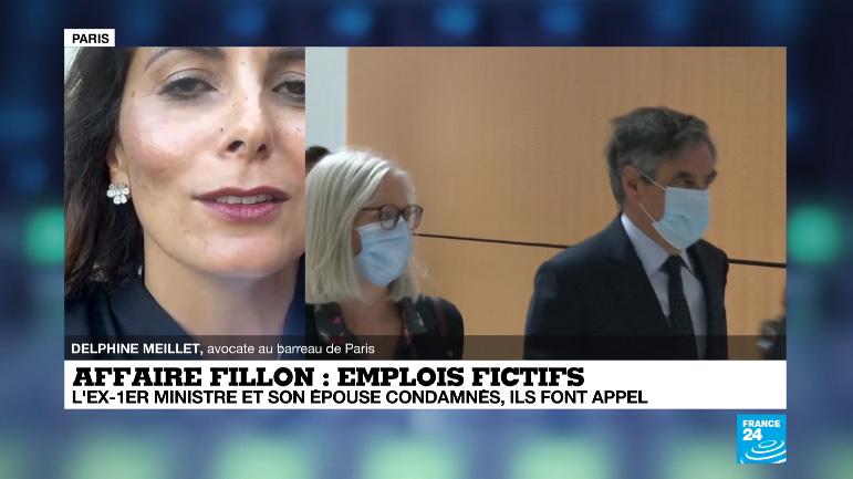 Commentaires sur la condamnation Fillon